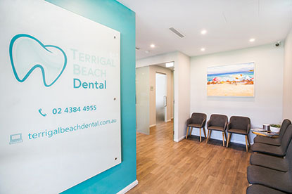 Terrigal Beach Dental Waiting Area