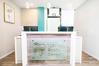 Terrigal Beach Dental Reception